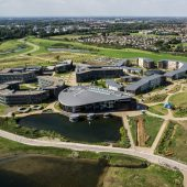 Our drone team was recently commissioned to produce some aerial photographs to showcase the new building at York University.