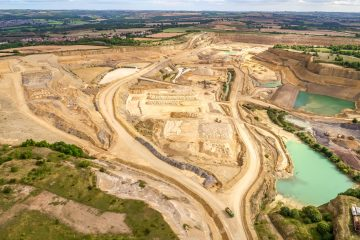 Drone Aerial Photography for Quarry Sites