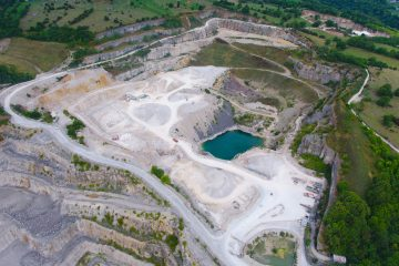 Aerial Photography for Quarries using Drones