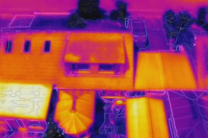 Drone Thermal Roof Surveys Show Reel